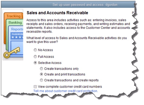 Setting up user access in QB Picture 2
