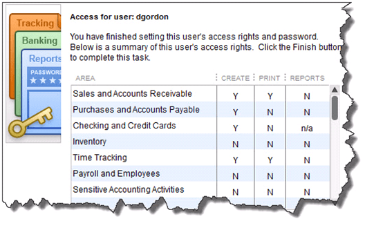 Setting up user access in QB Picture 3
