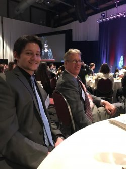 Chris Frontale, auditor in the StoneBridge division, and Kevin Hill, Partner and CEO of EFPR Group.