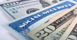 money and a social security card