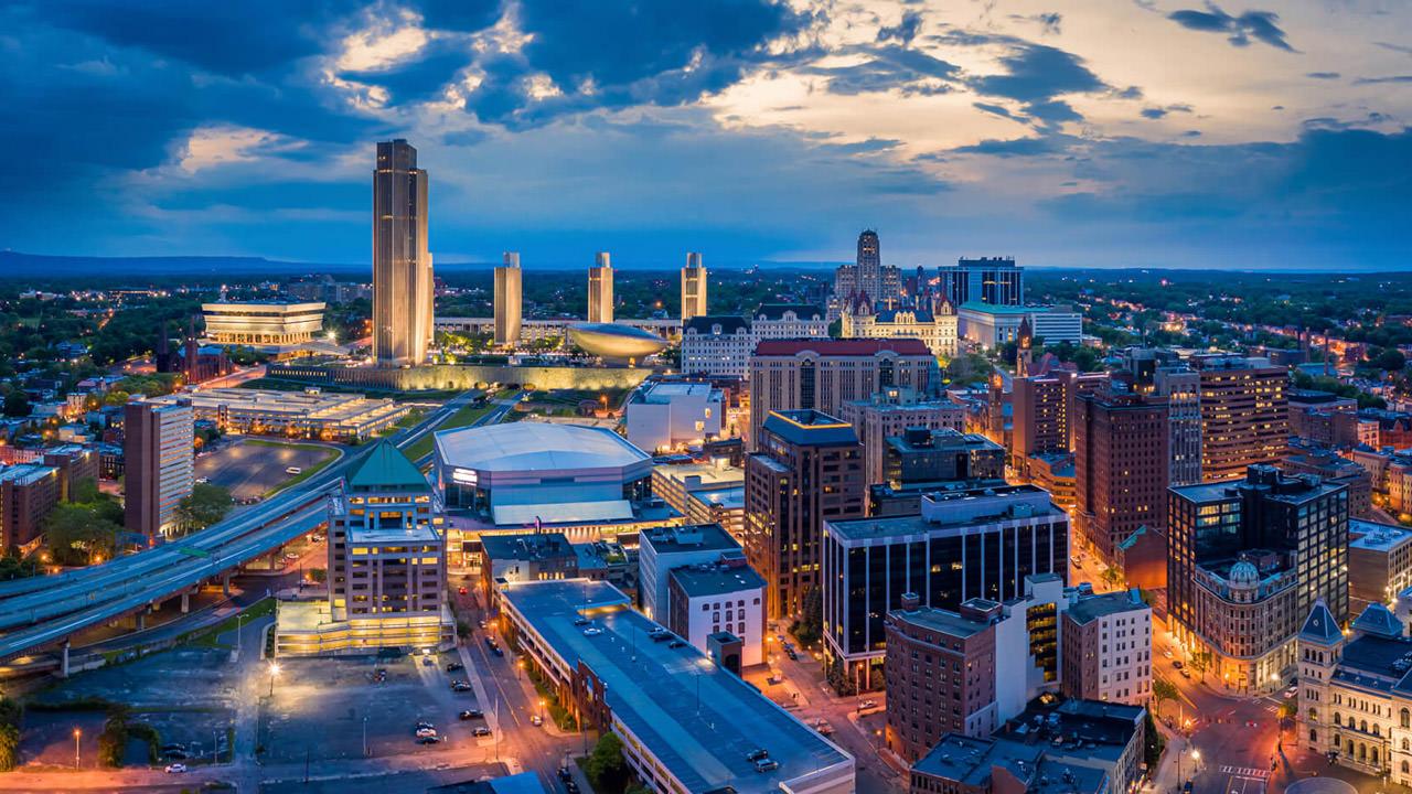 Skyline in Albany